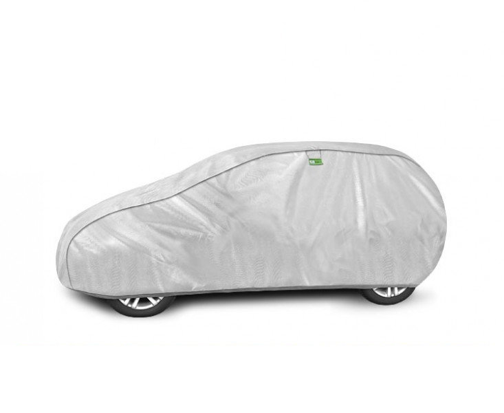 Prelata auto, husa exterioara Silver Garage M2 hatchback, lungime 380-405 cm