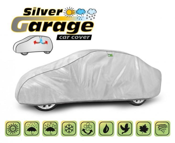 Prelata auto, husa exterioara Silver Garage L sedan, lungime 425-470 cm