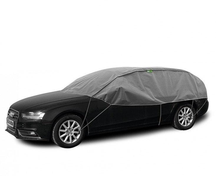 Semi prelata auto Winter Optimal L-XL Hatchback Combi pentru protectie inghet si soare, l=295-320cm, h=75cm