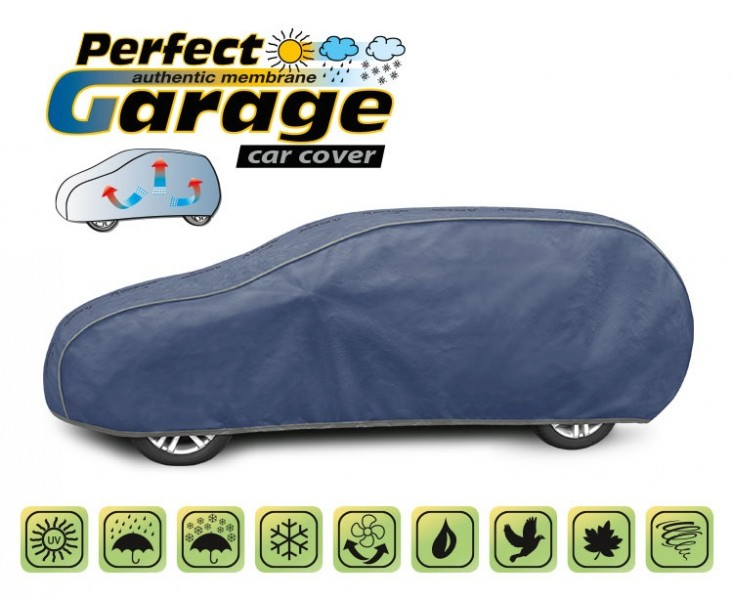 Prelata auto, husa exterioara Perfect Garage XL hatchback/ Combi , lungime 455-485 cm