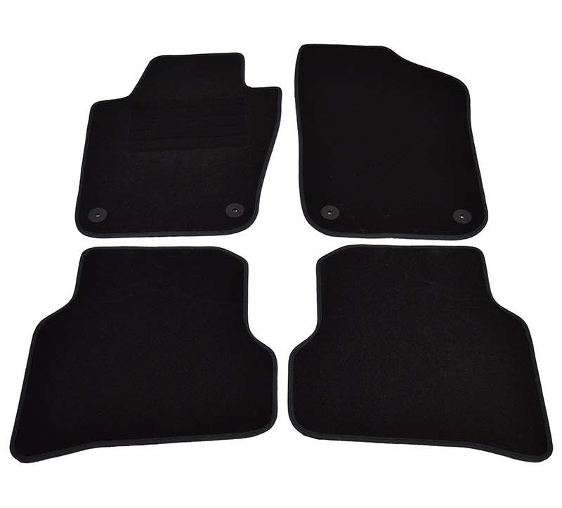 Covorase mocheta Seat IBIZA 6/2008- si modelul Ibiza 2013- Negru , set de 4 bucati