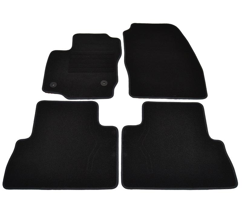 Covorase mocheta Ford C-MAX 2011- LIFT 2012- Negru, set de 4 bucati