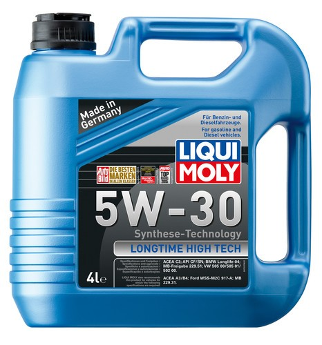 Ulei motor Liqui Moly 5W30 Longtime High Tech 4L