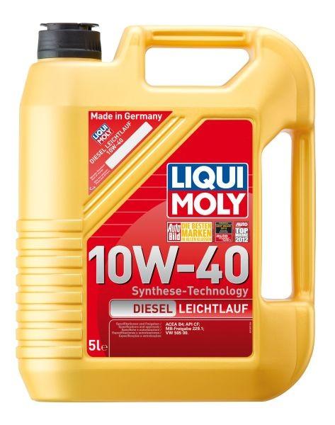 Ulei motor Liqui Moly 10W40 Diesel Leichtlauf, 5L