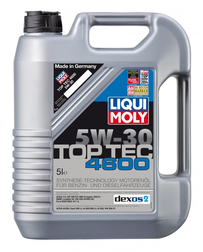 Ulei motor Liqui Moly 5W30 TopTec 4600, 5L