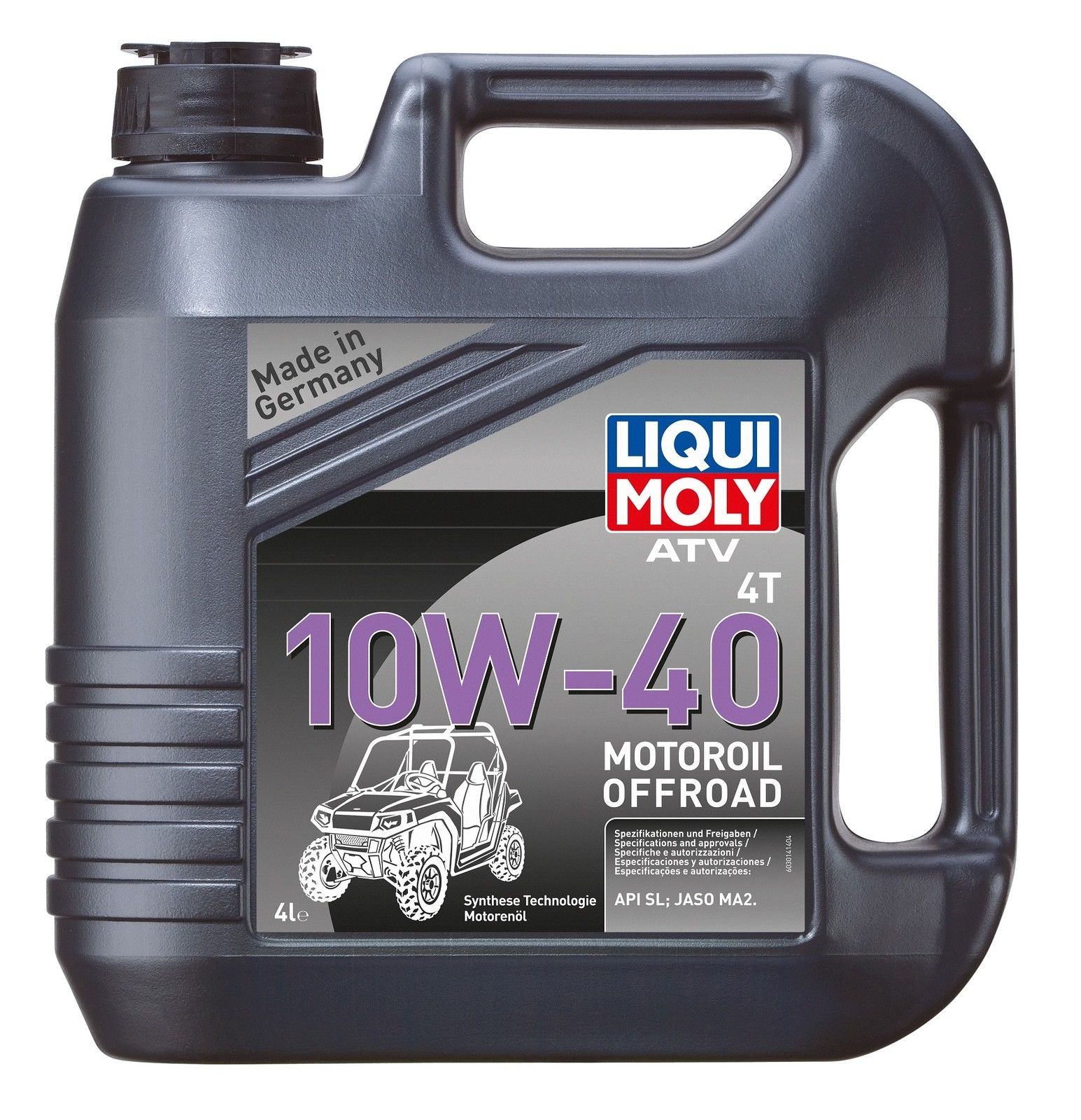 Ulei motor ATV Liqui Moly 10W40, 4T , 4L