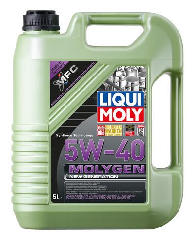 Ulei motor Liqui Moly 5W40 Molygen New Generation 5 litri
