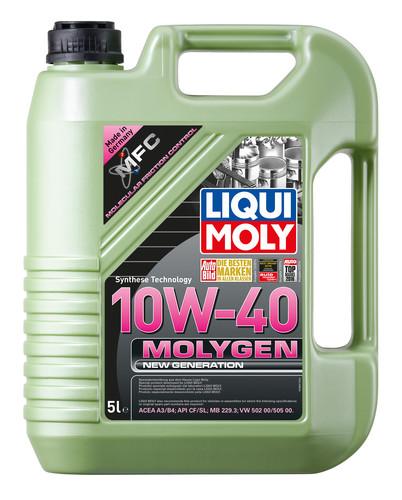 Ulei motor Liqui Moly 10W40 Molygen New Generation 1 litru