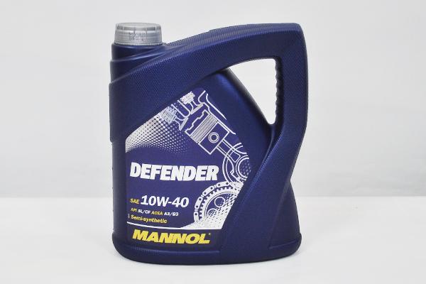 Ulei motor Mannol 10W40 Defender Stahlsynt - 4 litri