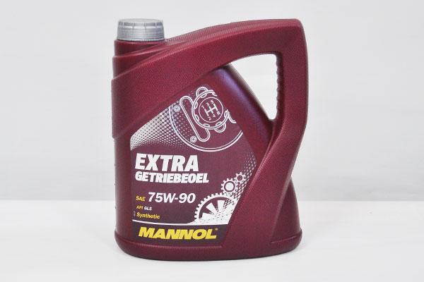 Ulei transmisie Mannol 75W90 Api GL 4/GL 5 Extra Getriebeoel, 4 litri