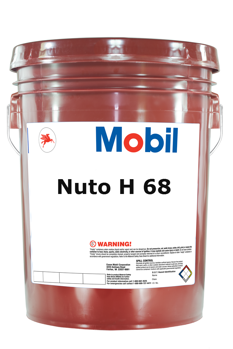 Ulei hidraulic MOBIL NUTO H68 20L