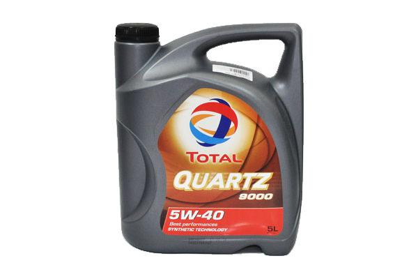 Ulei motor Total Quartz 5W40 9000 - 5 litri
