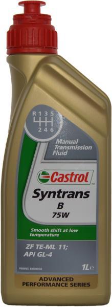Ulei cutie viteze manuala Castrol Syntrans B 75W 1L