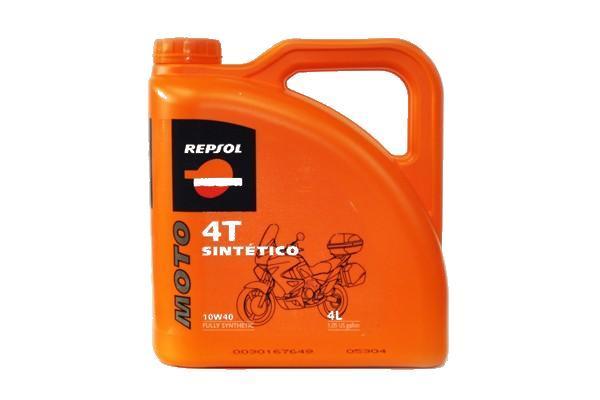 Ulei motor Repsol 10W40 Moto Sintetico 4T - 4 litri