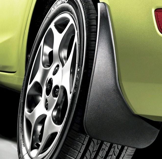 Set aparatori noroi Nissan X-Trail 2008-2013 Fata si Spate, 4 buc.