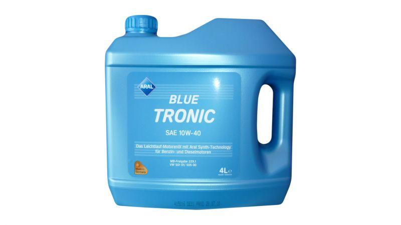 Ulei motor Aral Blue Tronic 10W40 4 litri