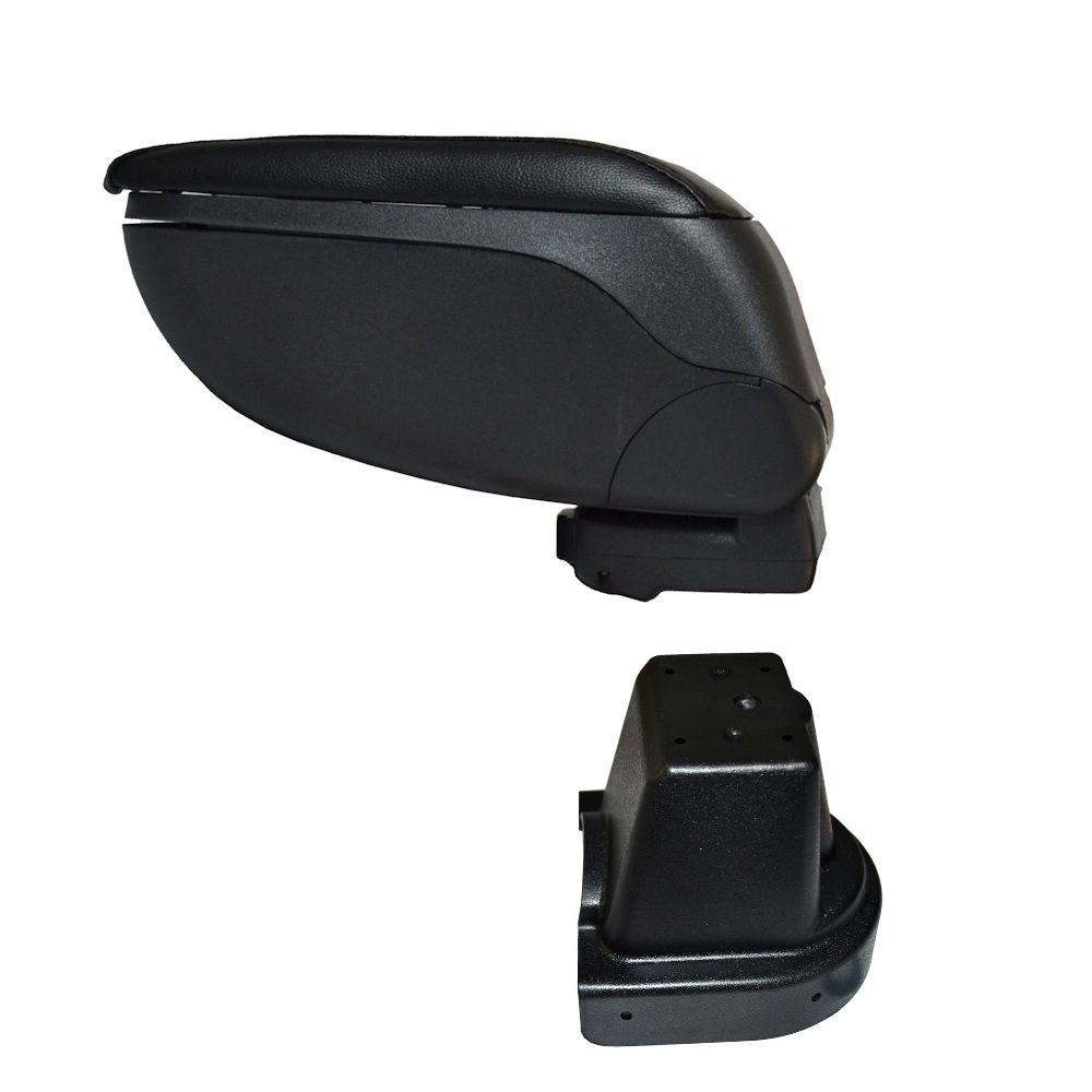 Cotiera pentru Chevrolet Aveo 2 2006-2011 , rabatabila cu capac culisabil , Neagra