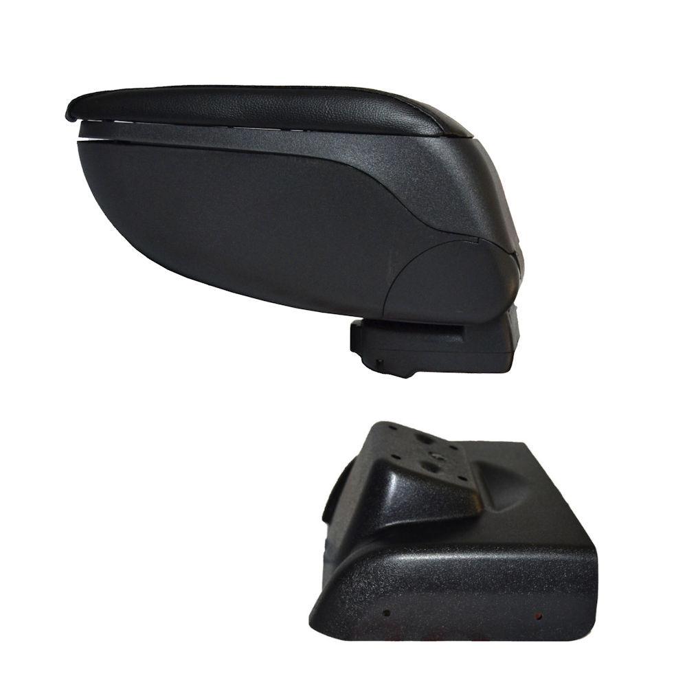 Cotiera pentru Ford Focus 3 2011-, rabatabila cu capac culisabil , Neagra