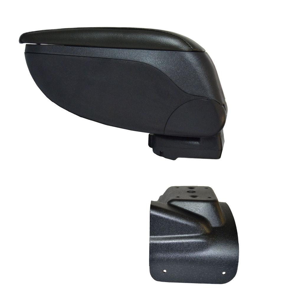 Cotiera pentru Nissan Juke 2010-, rabatabila cu capac culisabil , Gri