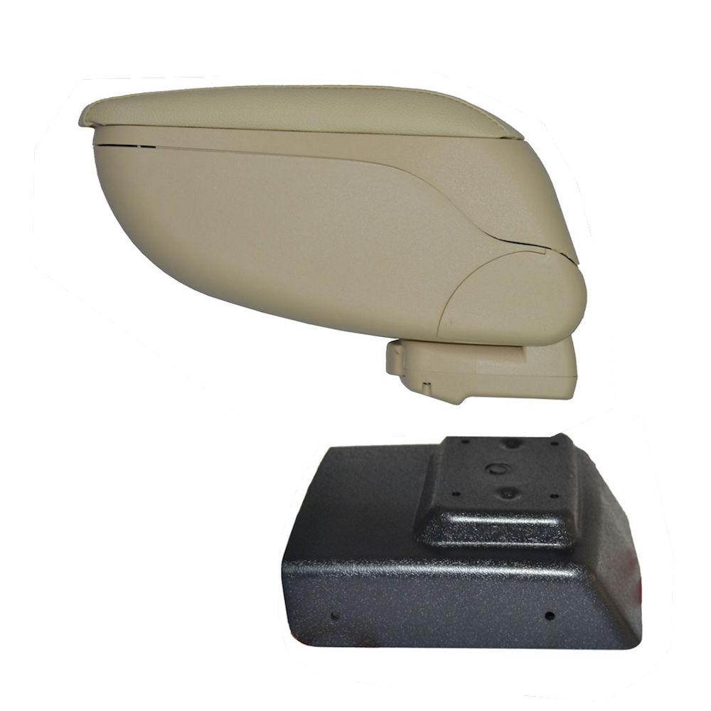 Cotiera pentru Opel Astra H 2003-, rabatabila cu capac culisabil , Consola CREM si Suport Negru