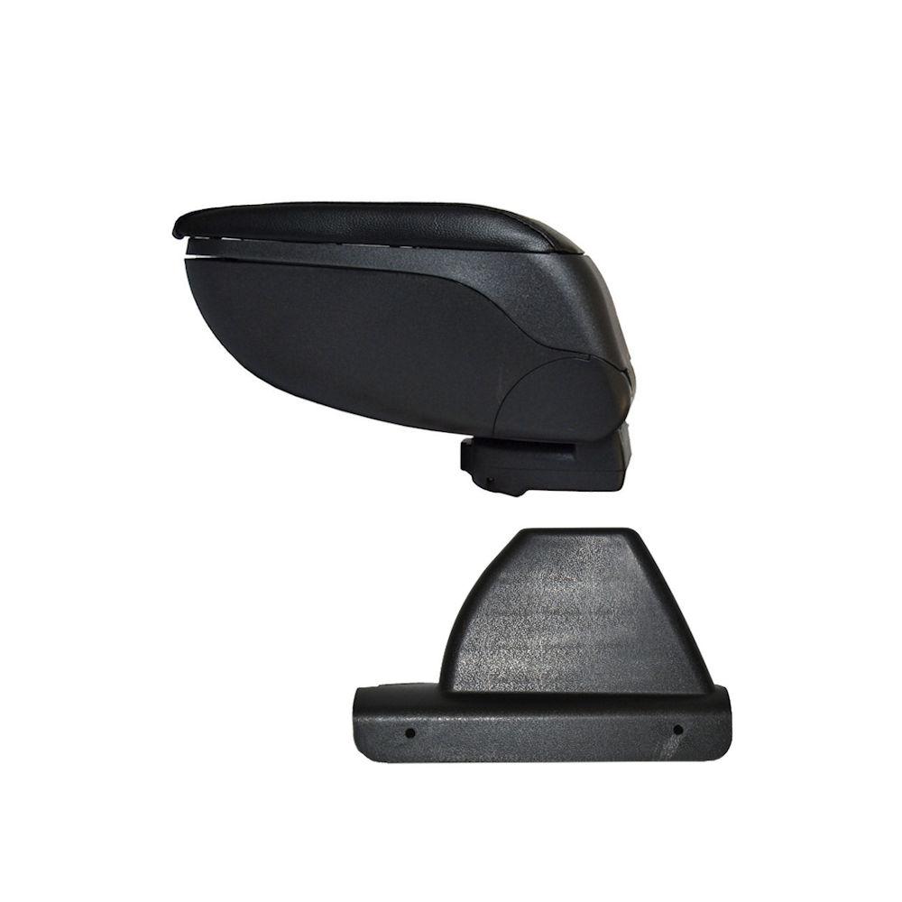Cotiera pentru Ford Focus 1 FaceLift 10.2001-2004 , rabatabila cu capac culisabil imitatie piele , culoare Negru