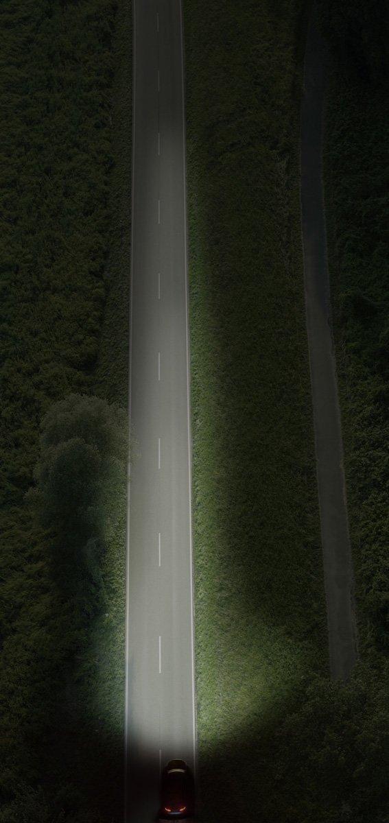 Set 2 becuri auto cu halogen pentru far Philips X-treme Vision +130% H1 12V 55W P14.5S