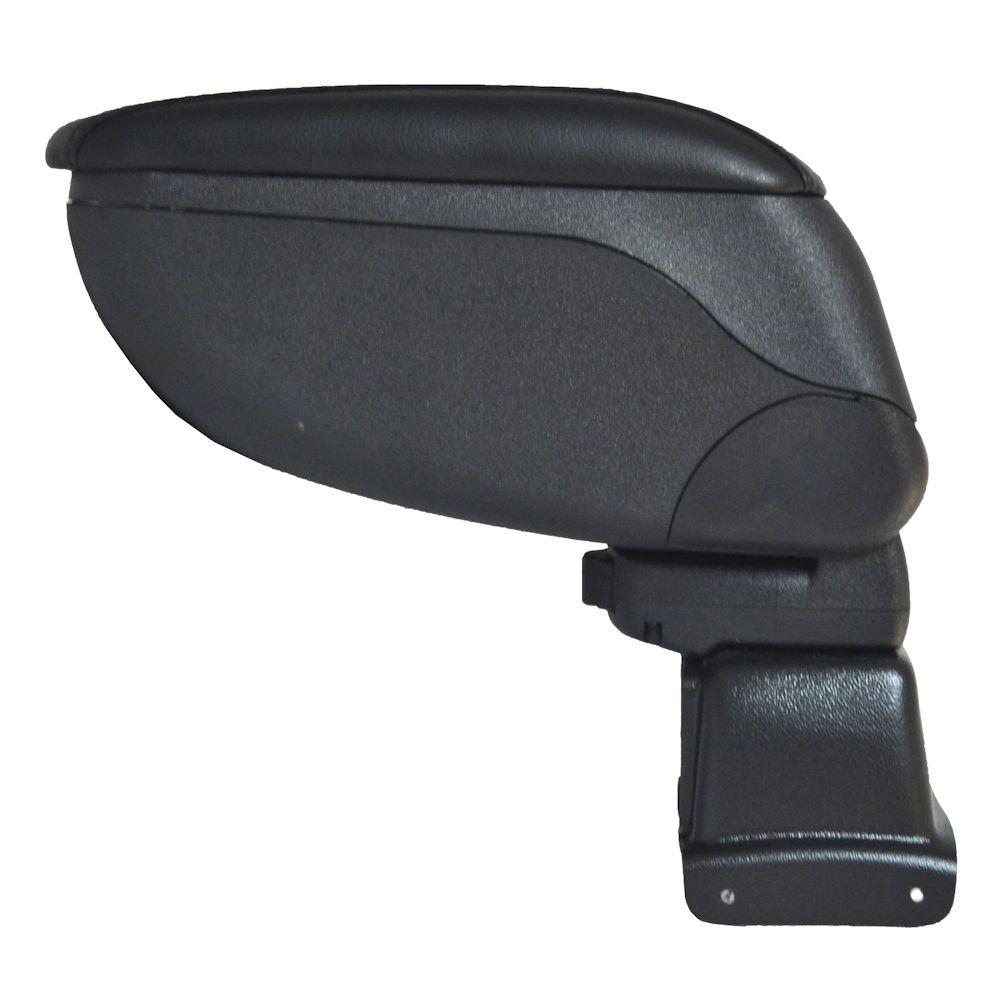 Cotiera pentru Fiat 500L 2012-> , rabatabila cu capac culisabil imbracat in piele eco