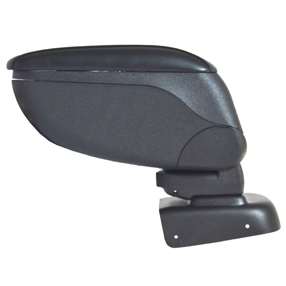 Cotiera pentru Suzuki Swift 04/2005-, rabatabila cu capac culisabil imbracat in piele eco