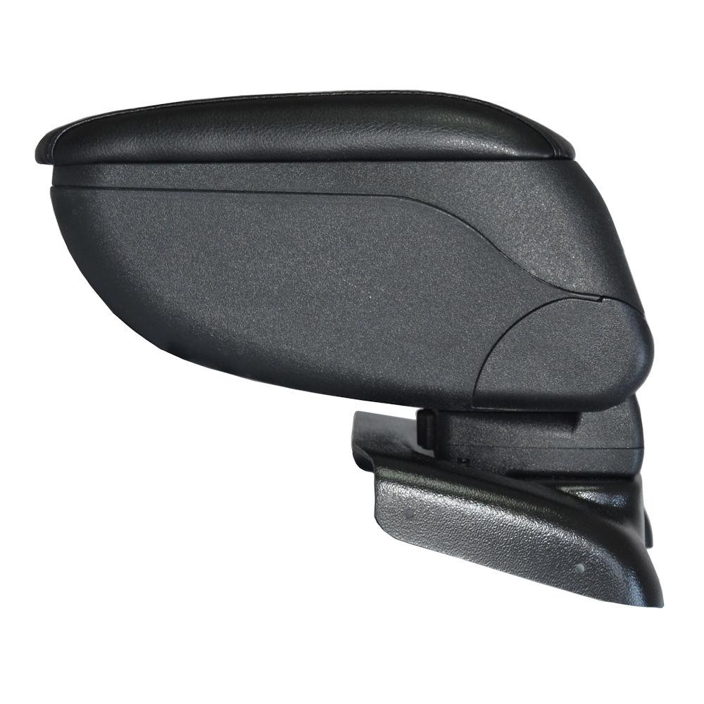 Cotiera pentru Ford Focus 3 2010- , rabatabila cu capac culisabil imbracat in piele eco