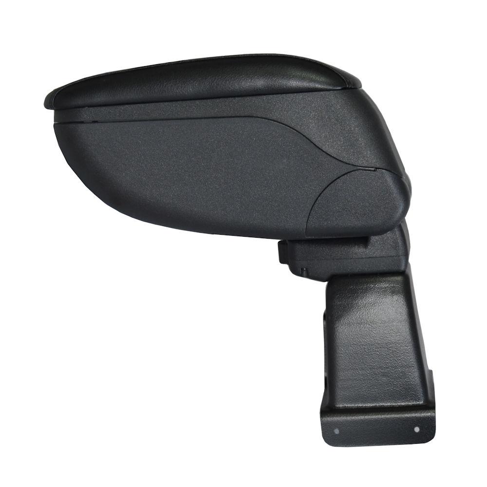Cotiera pentru Renault Clio 4 2012-> , rabatabila cu capac culisabil imbracat in piele eco