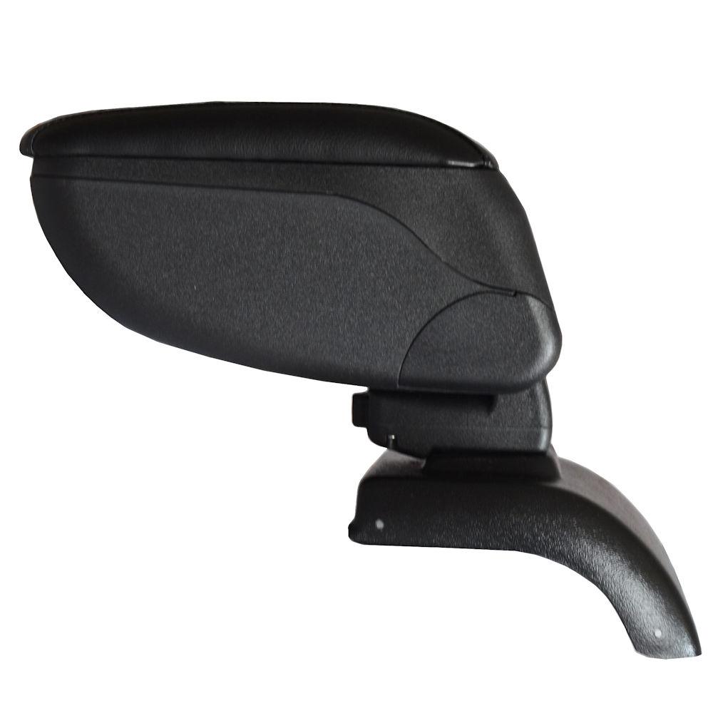Cotiera pentru Seat Leon 3 2013- , rabatabila cu capac culisabil imbracat in piele eco