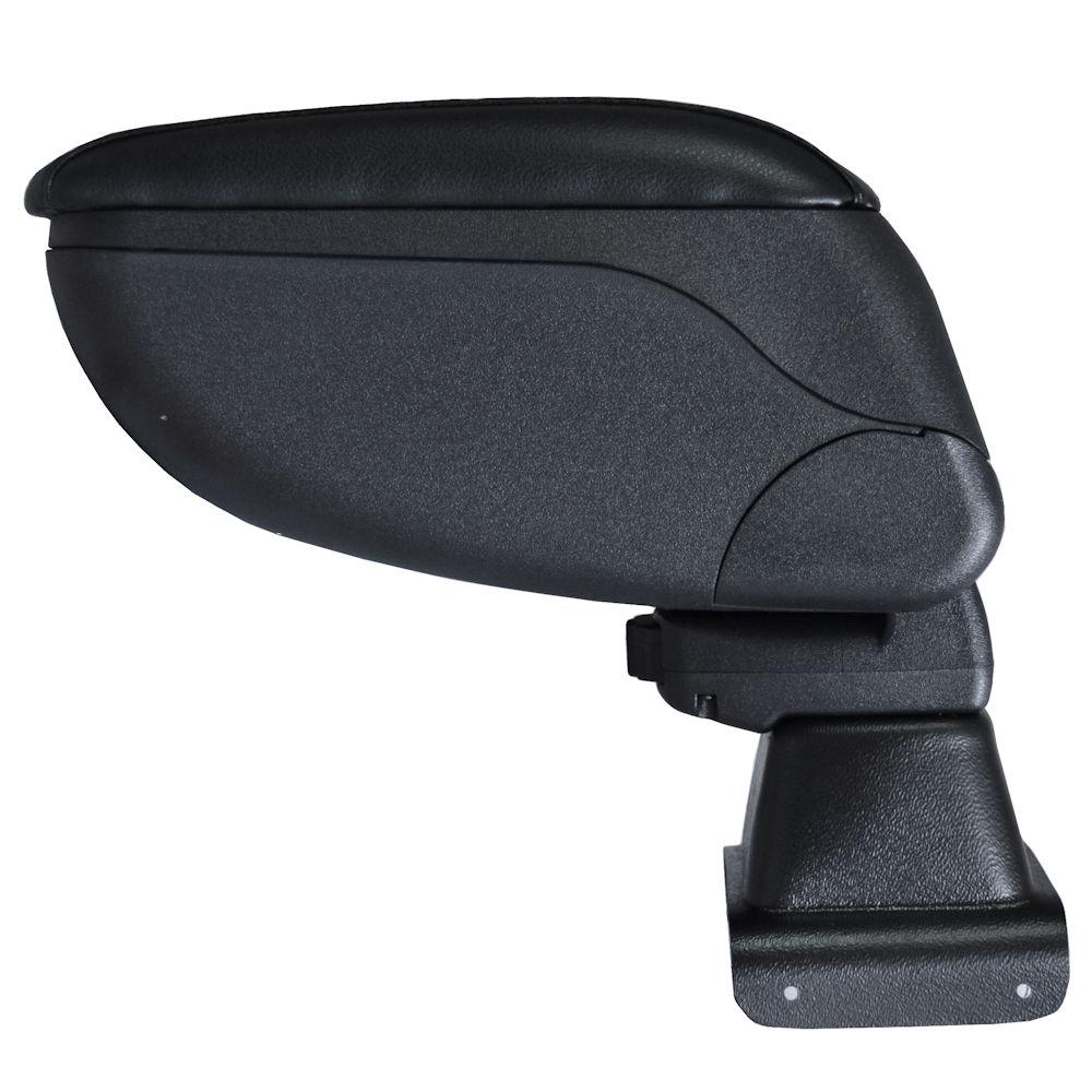 Cotiera pentru Seat Toledo 4 Skoda Rapid 2013-> , rabatabila cu capac culisabil imbracat in piele eco