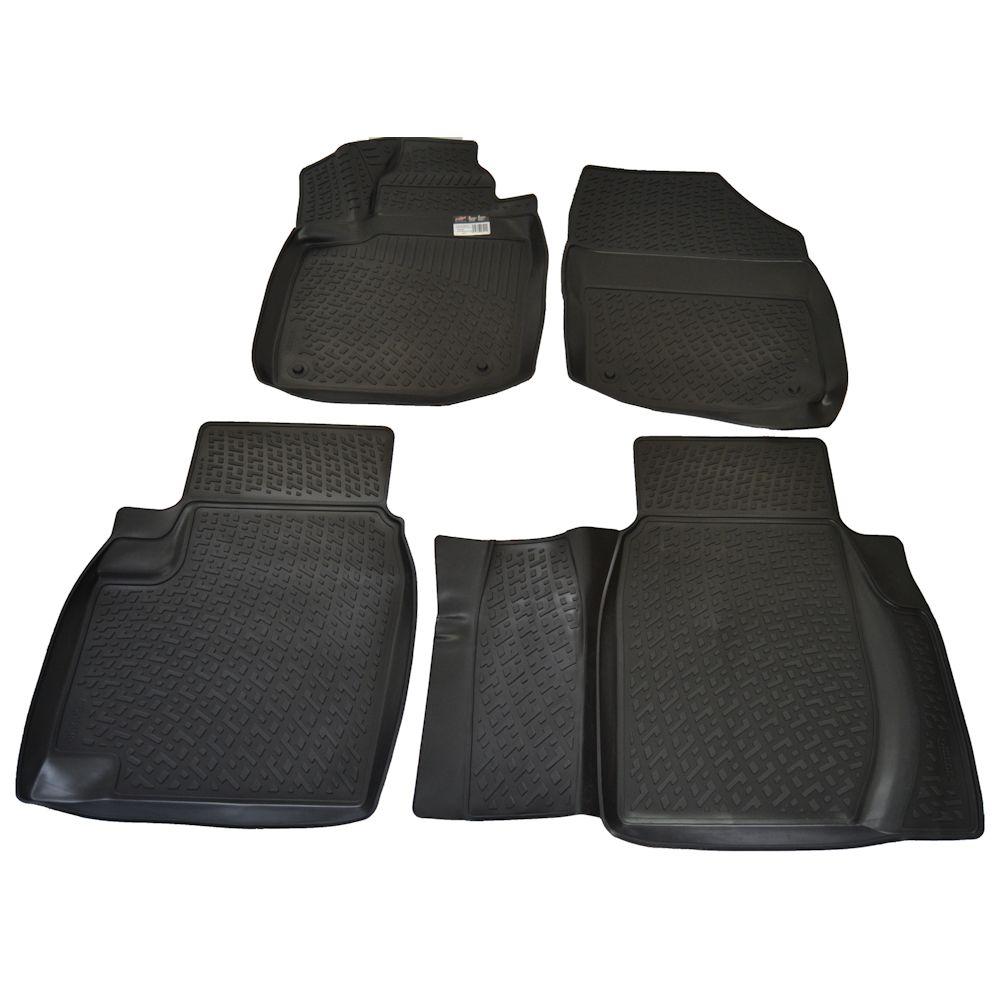Set covorase auto din cauciuc Honda Civic IX (FB2/FB4/FG3/FG4/FB6) 5usi 2011- , presuri tip Tavita 4 buc.