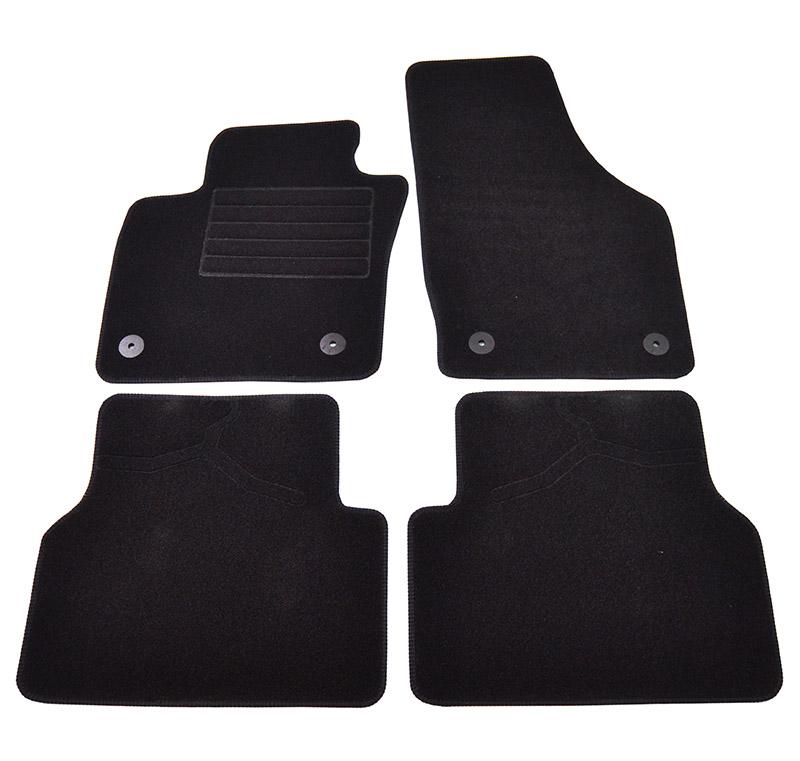 Covorase mocheta Audi Q3 2011- Negre, set de 4 bucati