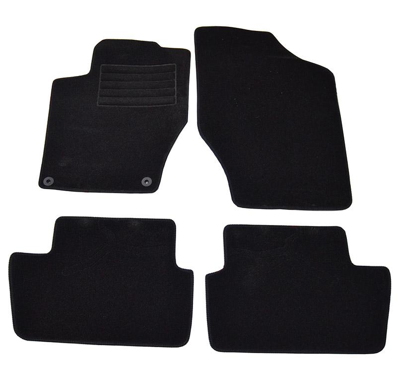 Covorase mocheta Citroen C4 2010- DS4 2010- Negre, set de 4 bucati