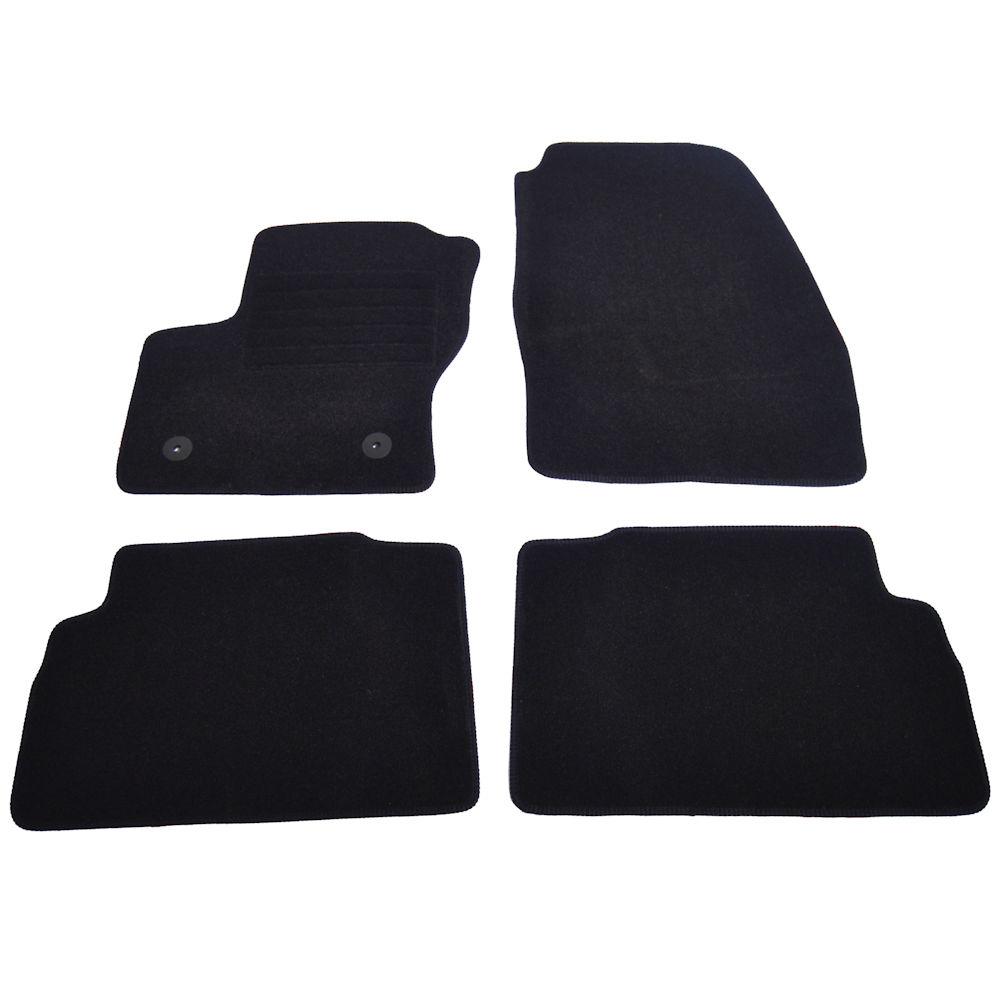 Covorase mocheta Ford C-Max 3 2013-> Negru, set de 4 bucati