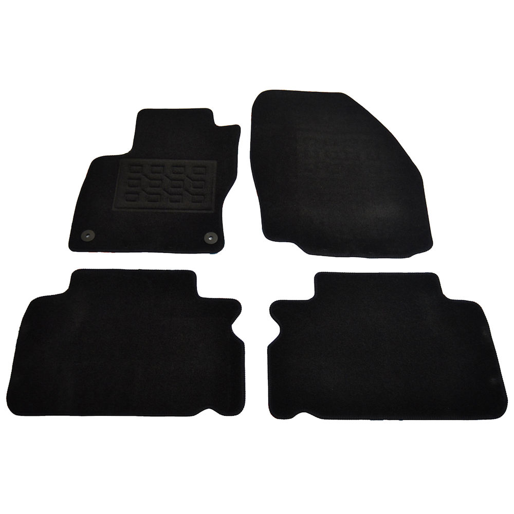 Covorase mocheta Ford Focus 3 5 Usi Facelift 2014- , presuri culoare Negru 4 buc.