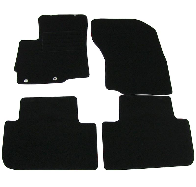 Covorase mocheta Mitsubishi Outlander 12/2012-> Negre, set de 4 bucati