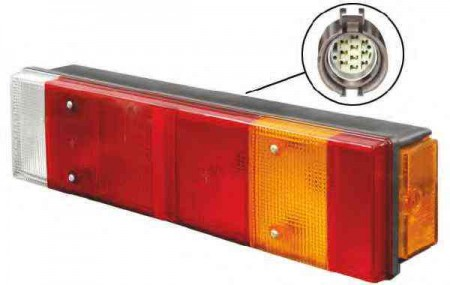 Stop spate lampa Iveco DAILY pick-up 04 1996-12 1998 BestAutoVest partea Dreapta
