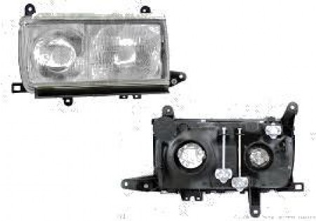 Far Toyota Land Cruiser FJ80 FJ82 01 1993-05 1996 BestAutoVest partea Dreapta H1+H4 manual
