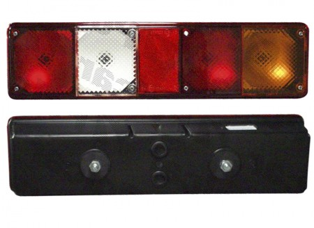 Lampa spate camion dreapta cu mers inapoi 12 24V 105x395x80mm