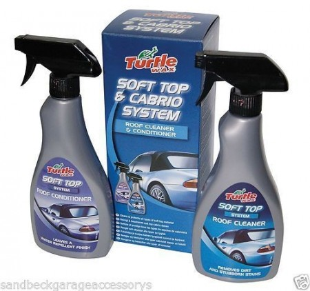 Solutie curatare si intretinere Soft-Top Turtle Wax FG6648 Soft top & Cabrio system