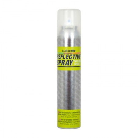 Spray reflectorizant pentru materiale textile, haine, rucsac, incaltaminte Albedo Invisible Bright, 100ml