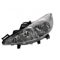 Far Peugeot 206+ 2 04 2009- AL Automotive lighting partea Stanga cu bec H1+H7