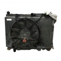 GMV radiator electroventilator Ford Fiesta Ja8 09 2011 Ford B Max 2012 Ecosport 2013 Motorizare 1 0 Ecoboost 74 88 92 103kw Benzina tip climatizare cu AC dimensiune mm Aftermarket
