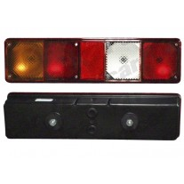 Lampa spate camion stanga cu mers inapoi 12 24V 105x395x80mm