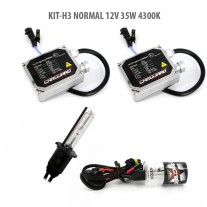 Kit HID xenon Carguard bec H3 Normal 12V 35W 4300K