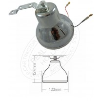 Claxon Auto - Clopot electric Ding Dong , 12V , 127x120mm