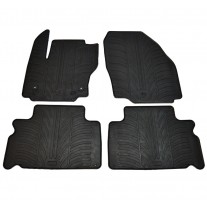 Set covorase auto din cauciuc Ford S-Max 2012-2015 Ford Galaxy 2012-07 2015 facelift Gledring 4 buc