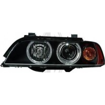 Far Bmw Seria 5 (E39), 09.00-06.04, electric , tip bec H1+H7 , are motoras, omologare ECE, 63126900197; 6900197, Stanga